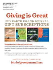 Earth Island Journal – June 2019
