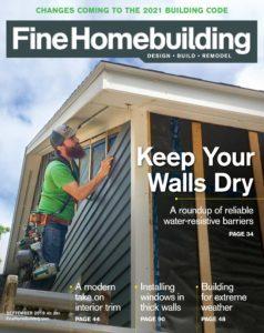 Fine Homebuilding – September 2019