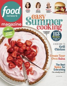 Food Network – July-August 2019