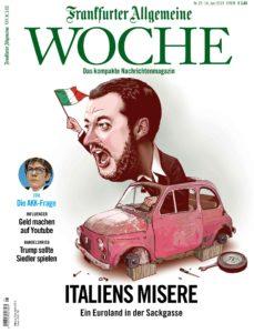 Frankfurter Allgemeine Woche – 14. Juni 2019