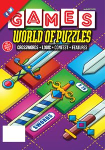 Games World of Puzzles – August 2019