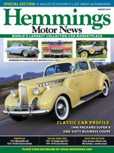 Hemmings Motor News – August 2019