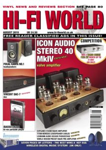Hi-Fi World – August 2019