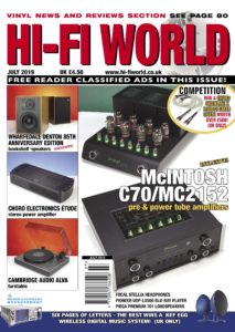 Hi-Fi World – July 2019
