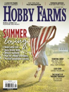 Hobby Farms – July-August 2019