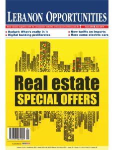 Lebanon Opportunities – June 2019