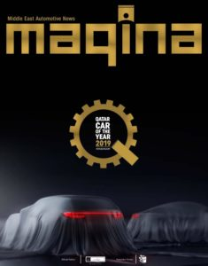 Maqina Magazine – Qatar Car of the Year 2019
