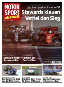 Motorsport Aktuell – 13 Juni 2019