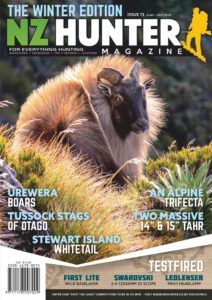 NZ Hunter – June-July 2019