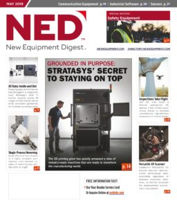 New Equipment Digest – May 2019