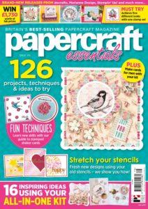 Papercraft Essentials – July 2019