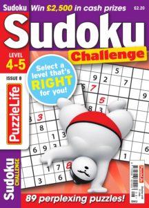 PuzzleLife Sudoku Challenge – June 2019
