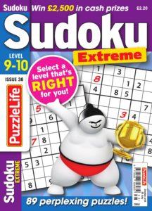PuzzleLife Sudoku Extreme – June 2019