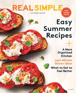 Real Simple – July 2019