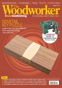 The Woodworker & Woodturner – August 2019