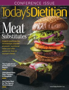 Todays Dietitian – June 2019