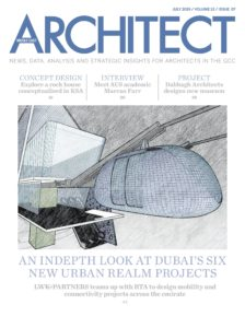 Architect Middle East – July 2019