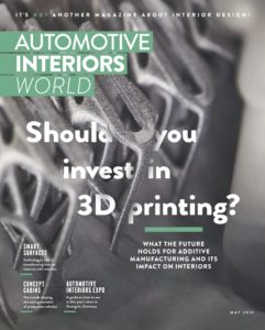 Automotive Interiors World – May 2019