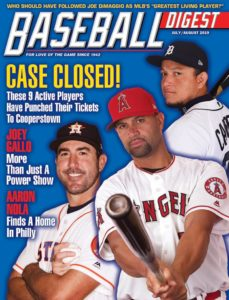 Baseball Digest – July-August 2019