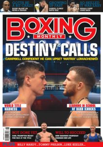 Boxing Monthly – August 2019