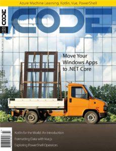 CODE Magazine – July-August 2019