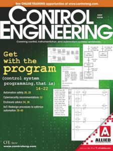 Control Engineering – July 2019