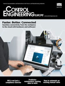 Control Engineering Europe – April 2019