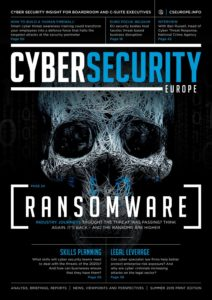 Cyber Security Europe – Summer 2019