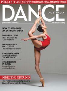 Dance Australia – August 2019