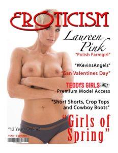 Eroticism Magazine – Spring 2019