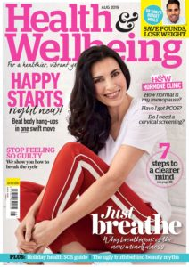 Health & Wellbeing – August 2019