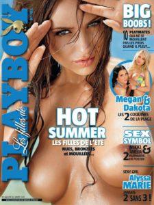 Les Filles de Playboy France – Juillet-Aout 2012