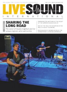 Live Sound International – July 2019