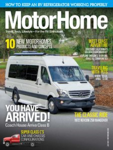 Motor Home – July 2019