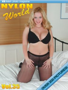 Nylons World Adult Fetish Photo Magazine – July 2019