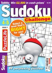 PuzzleLife Sudoku Challenge – July 2019