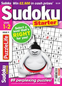 PuzzleLife Sudoku Starter – July 2019