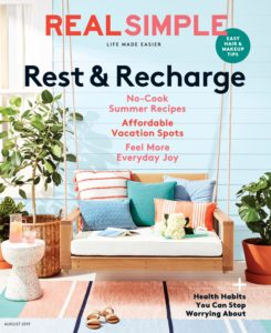 Real Simple – August 2019