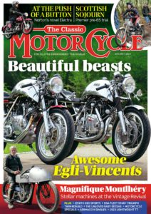 The Classic MotorCycle – August 2019