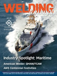Welding Journal – June 2019