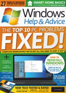 Windows Help & Advice – August 2019