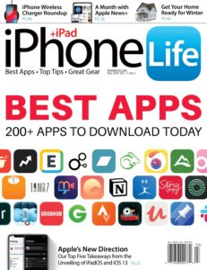 iPhone Life Magazine – Fall 2019
