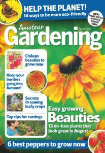 Amateur Gardening – 03 August 2019