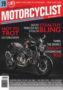 Australian Motorcyclist – September 2019