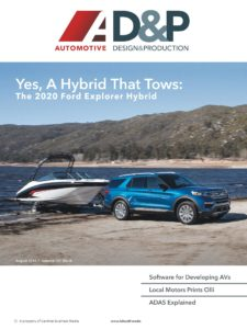 Automotive Design and Production – August 2019