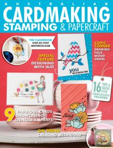 Cardmaking Stamping & Papercraft – August 01, 2019