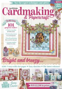 Cardmaking & Papercraft – October 2019