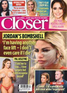 Closer UK – 28 August 2019