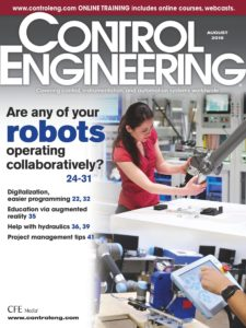 Control Engineering – August 2019