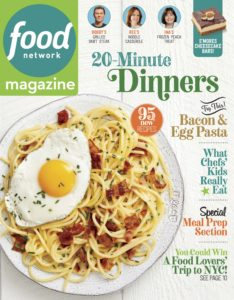 Food Network – September 2019